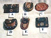 Coin purses in assorted styles