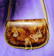 Large Saddle Bag Purse