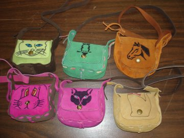 Little Girl Suede Purse