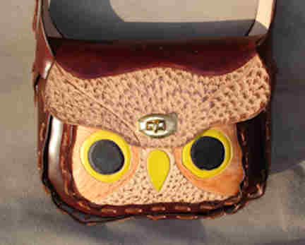 Round-up Style purse with Owl