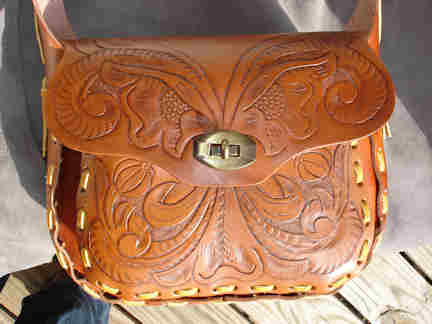 "Retro style purse known as ""Round up"""