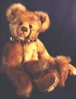 Sankar Bear with leather collar and bells